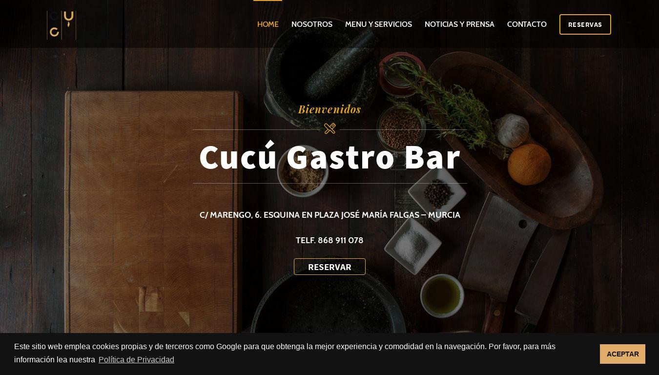 Clamo Music. Diseño web para promotoras de música.