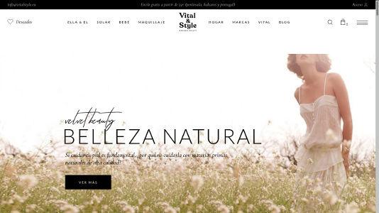 Diseño tienda online Murcia productos belleza